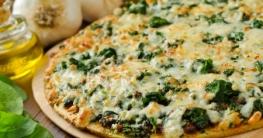 Spinat Pizza selber machen